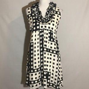 black & white Karlie dress